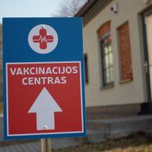 Klaipėdiečiai be registracijos vakcinavosi vangiai