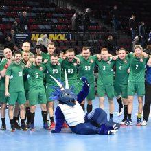 Lietuvos rankinio rinktinė sužinojo varžovus Europos čempionato atrankoje
