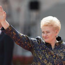D. Grybauskaitei Varšuvoje įteiktas Laisvės riterio apdovanojimas