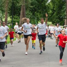 Unikalus Olimpinės dienos minėjimas: lietuvišką olimpinę mylią gali bėgti visi
