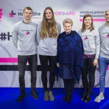 D. Grybauskaitė: lygybė yra bendras – kiek moterų, tiek ir vyrų – tikslas