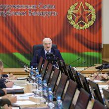 A. Lukašenka: V. Putinas pažadėjo suteikti visokeriopą pagalbą Baltarusijos saugumui