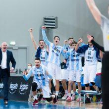 Galingu spurtu marijampoliečius nubloškę Jonavos krepšininkai iškopė į finalą