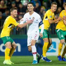 S. Mikoliūnas apie rekordo siekį, įsimintiniausią įvartį ir akistatą su C. Ronaldo