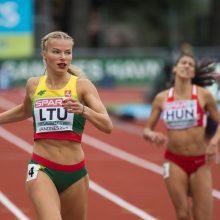 Europos komandų čempionato startas pažymėtas bėgikės M. Morauskaitės rekordu