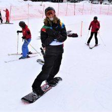 Snieglentininkas M. Morauskas varžybose Austrijoje – 27-as