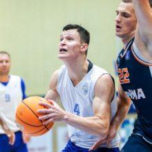 """""""Neptūno"""" krepšininkai draugiškas rungtynes su """"Astana"""" baigė lygiosiomis"""