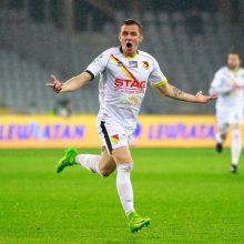 Futbolininko A. Novikovo komanda Lenkijos čempionatą pradėjo nesėkme