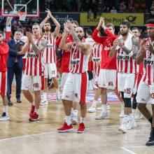 """""""Olympiakos"""" krepšininkai nugalėjo """"Darussafaka"""" ekipą"""
