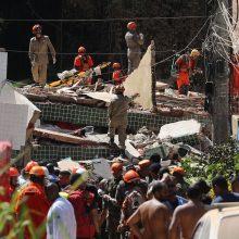 Brazilija: Rio de Žaneire sugriuvo du namai, žuvo mažiausiai du žmonės