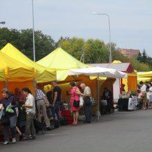 Nuo šiandien Ūkininkų turgelis Kaune – naujoje vietoje