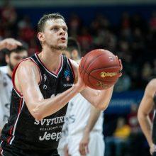 """""""Ryto"""" krepšininkai patyrė nesėkmę Belgrade"""