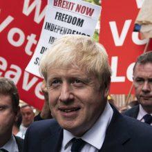 Apklausa: B. Johnsonas torių lyderiu gali būti išrinktas 70 proc. balsų dauguma