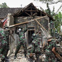 Per žemės drebėjimą Indonezijoje žuvo 5 žmonės