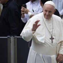 Popiežius: kai kurių Europos politikų kalbos primena A. Hitlerį
