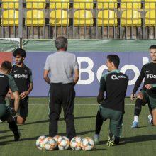 Portugalijos rinktinės treneris: svarbu gerbti varžovus