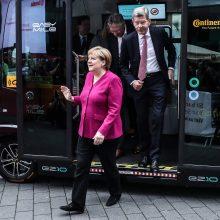 """A. Merkel """"klimato kabinetas"""" aptars iki 2030 m. numatytus tikslus"""