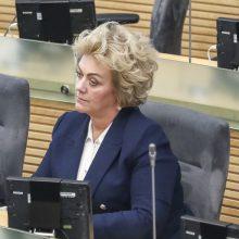 NSGK siūloma tyrimą dėl I. Rozovos užbaigti iki birželio