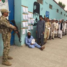 Afganistane vyksta prezidento rinkimai