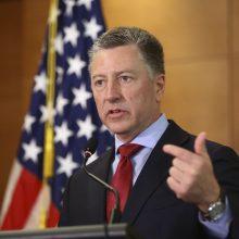 Atsistatydino JAV specialusis atstovas Ukrainai K. Volkeris