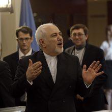 JAV neleido Irano ministrui susitikti su Niujorko ligoninėje gydomu diplomatu