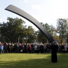 """Estija pažymi kelto """"Estonia"""" katastrofos metines"""