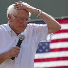Kandidatą į JAV prezidentus B. Sandersą buvo ištikęs infarktas