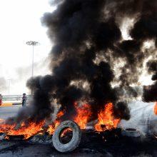 Irake nerimstant protestams, žuvusiųjų per protestus skaičius toliau auga