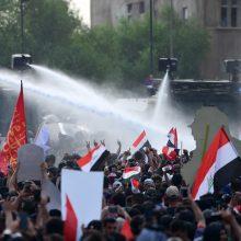 Per protestus Irake žuvo 73 žmonės