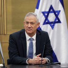 """""""Kachol Lavan"""" lyderiui B. Gantzui nepavyko sudaryti Izraelio vyriausybės"""