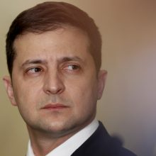 V. Zelenskis: be susitikimo su V. Putinu Ukraina liks įstrigusi toje pačioje vietoje