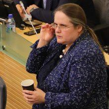 A . Širinskienė ir V. Pranckietis susiginčijo, kas kaltas dėl KT išvados
