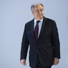 A. Guterresas per Aušvico išlaisvinimo metines įspėja dėl kylančio antisemitizmo