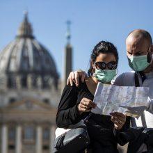Vatikane bus pastatyti dozatoriai su dezinfekuojančiomis priemonėmis
