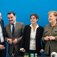 Vokietijos CDU savo lyderį rinks balandį