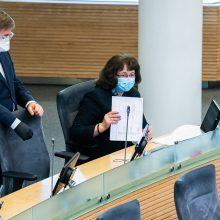 Seimas į eilinį plenarinį posėdį ketina rinktis balandžio 21 d.