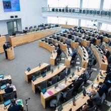 Seimas – už įmonių restruktūrizavimo ar bankrotų moratoriumą