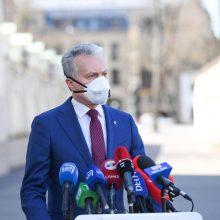 G. Nausėda apie aukščiausių šalies pareigūnų testavimą: kvepia dvigubais standartais