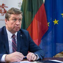 R. Karoblis: negalime leisti, kad koronaviruso krizė pakenktų gynybos tikslams