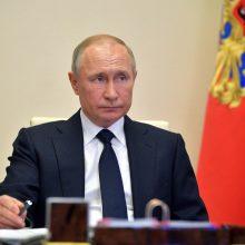 Baltieji rūmai atmetė V. Putino pasiūlymą metams pratęsti naująją START sutartį