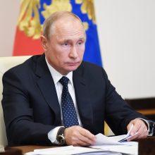 V. Putinas: Rusija sieks iki 2060 metų tapti neutralia klimato atžvilgiu