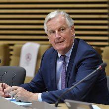 """Brexito"" derybininkas M. Barnier'as tapo U. von der Leyen specialiuoju patarėju"