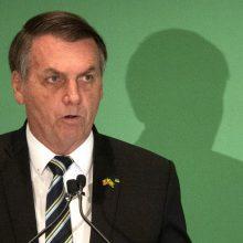 Brazilijos prezidentui J. Bolsonarui patvirtintas koronavirusas