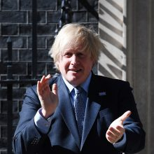 B. Johnsono žodžiai sukėlė pasipiktinimą JK slaugos sektoriuje