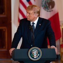 JAV teisėsaugai leista susipažinti su D. Trumpo finansiniais dokumentais