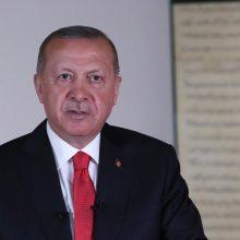 R. T. Erdoganas apkaltino Armėniją provokacijomis Azerbaidžano pasienyje