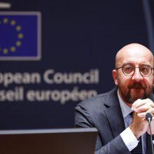 Ch. Michelis ragina JK atskleisti savo kortas dėl ateities santykių su ES
