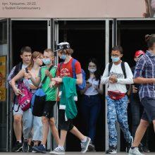 Ukrainoje – per parą nustatytų užsikrėtimo koronavirusu atvejų antirekordas