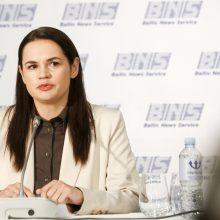 S. Cichanouskaja prašo ES pagalbos atliekant vakcinaciją nuo COVID-19 Baltarusijoje