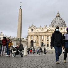 Italijoje pastarąją parą patvirtinta beveik 3,7 tūkst. COVID-19 atvejų